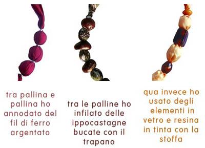 collane tubolari stoffa violetab come fare