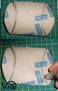 scatoletta da rotoli carta igienica violetab