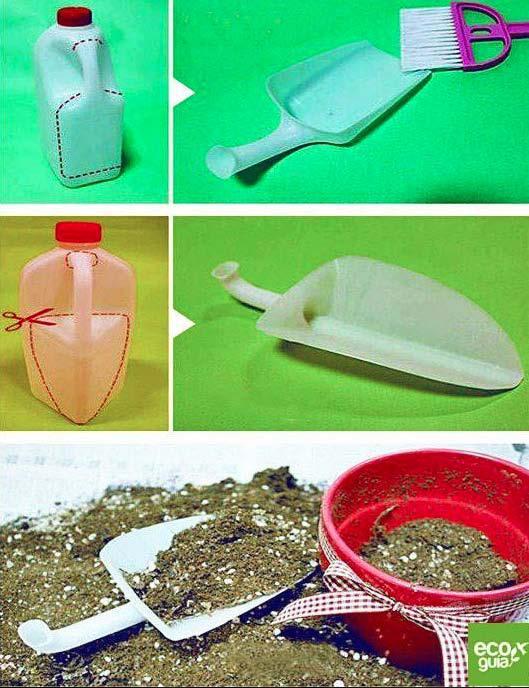 Riciclare bottiglioni di plastica qualche idea violetab - Un altro modo per dire porta ...