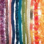 Tubolare a maglia con i ferri e con il tricotin