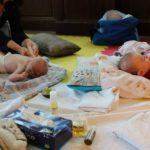 massaggio neonati