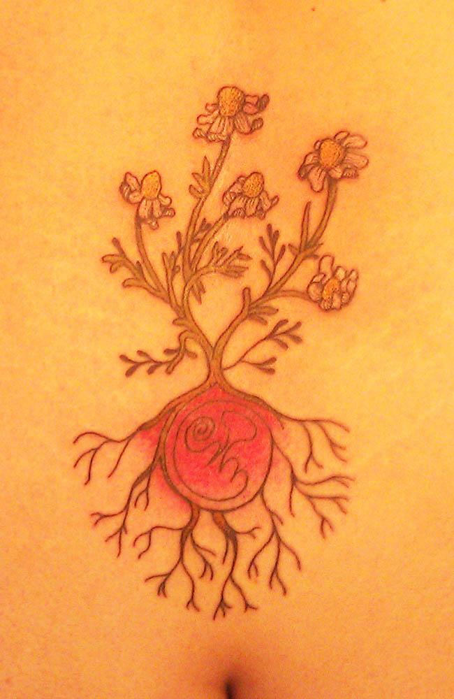 tatuaggio violeta