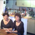 violeta con mami argentina