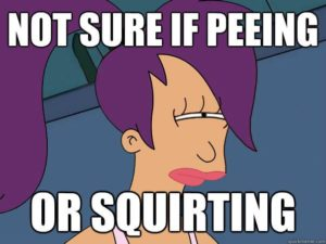 squirting o pipi